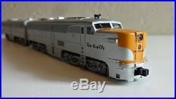 N-Scale Kato Denver& Rio Grande Western PA-1+PB-1 Set Mint CA Zephyr Locomotives