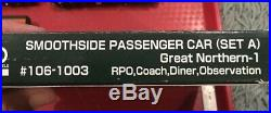 N Scale Kato Great Northern Passenger Car Lot Precision dcc Sound Engines GN