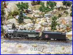 N scale steam locomotive CON-COR J3a Hudson Great Northern 4-6-4 #2562 DC only