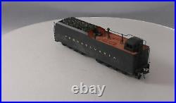 O Scale 2-Rail Brass Pennsylvania 8 Truck Steam Locomotive Tender Painted EX