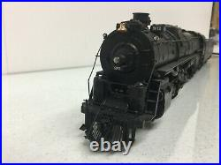 O Scale 2 Rail US Hobbies Brass ATSF 2-10-4 Steam Engine #5012 & Tender