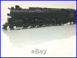 O Scale 2 Rail US Hobbies Brass Vintage ATSF 2-10-4 Steam Engine #5012 & Tender