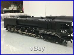 O Scale 2 Rail US Hobbies /KTM Brass Vintage UP 4-8-4 Steam Engine #843