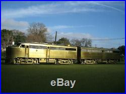 O Scale Brass Overland Alco FA-1 / FB-1 Set of Diesel Locomotives