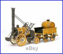 Occre Stephensons Rocket Locomotive 124 Scale 54000 Ideal Beginners Model Kit