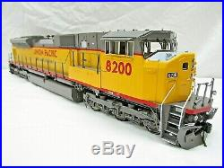 Overland Models BRASS UP SD90AC Diesel Locomotive 2 Rail O Scale Runs Beautiful