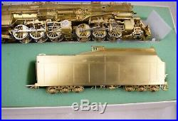 Overland S-scale Brass N&w A 2-6-6-4 Steam Locomotive & Tender Lnib T-2396