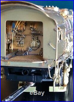 PFM Crown Brass HO Scale- Chesapeake and Ohio Class H-8 Steam Locomotive 2-6-6-6