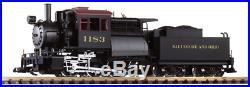 Piko 38245, G Scale, B&O Camelback 0-6-0 Locomotive withDCC/Smoke/Sound/Lights