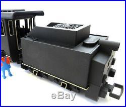Playmobil 4052 LGB G scale train 2-4-0 locomotive & tender Americanized custom
