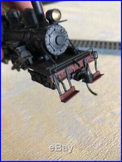 READ Vintage HO Scale United PFM Brass 2 Truck climax Locomotive C&D 36