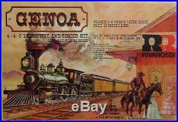 Rivarossi Genoa V&TRR 4-4-0 General Steam Engine O-Scale/2-Rail KIT NOS