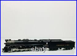 SUNSET 3rd Rail Brass C&O 2-10-4 Steam Locomotive #3001 withTender O-Scale 2 Rail