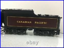 SUNSET Brass 2 Rail Canadian Pacific T-1c Selkirk 2-10-4 #5931 F/P O Scale Used