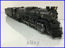 SUNSET Brass O Scale 2 Rail Chesapeake & Ohio 4-8-4 Steam Engine withTender #614