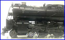 SUNSET Brass Santa Fe 4-8-4 Steam Locomotive #3751 with Tender O Scale 3 Rail