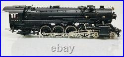 SUNSET Brass USRA Heavy AT&SF 4-8-2 Steam Engine #3708 withTender O Scale 2 Rail
