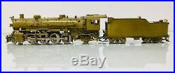 SUNSET Brass USRA Light 2-8-2 Steam Engine withTender 2 Rail O Scale