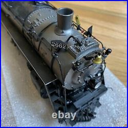 SUNSET MODELS NP A TRAIN ENGINE & TENDER BRASS O Scale Brass 4-8-4 PAINTED MINT