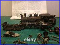 S Scale Rex 2-4-0 Suburban Locomotive Body/Parts Rare Vintage