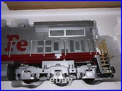 S scale Santa fe Locomotive Withh Sound