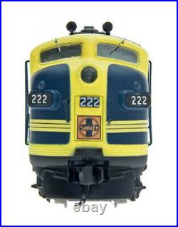 Santa Fe F7 CatWhisker Diesel Locomotive InterMountain 69226-08 Rd#222 N Scale