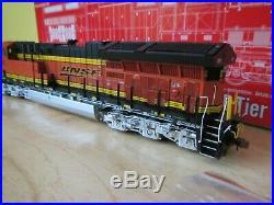 Scale Trains HO scale BNSF ET44C4 GE Tier 4 GEVO locomotive LokSound SXT30863