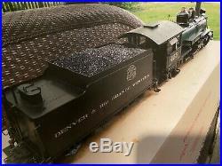 Spectrum 83097 D&RGW K-27 #455 Steam Locomotive & Tender 120.3 Scale