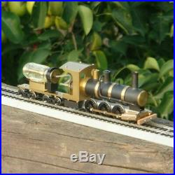 Steam Train Model Locomotive Drive HO Proportion Live Steam Engine Scale 136
