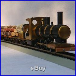 Steam Train Model Locomotive Drive HO Proportion Live Steam Engine Scale 136