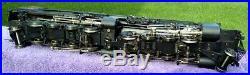 Sunset Models 3rd Rail N&W 2034 Y-3 2-8-8-2 Brass O Scale Custom Painted