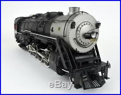 Sunset O Scale Brass Rio Grande 4-8-2 Steam Engine & Tender #1552 With Sound