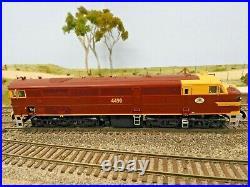 TrainOrama, 44 Class Locomotive, HO Scale, ORIGINAL INDIAN RED, 4490