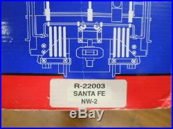 USA G Scale NW2 Diesel Engine-AT&SF with Smoke R-22003