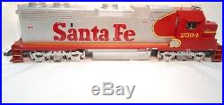 USA Trains Santa-Fe War Bonnet GP-38-2 Dual Motor G Scale Locomotive-ln