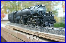 U S Hobbies MODELS BRASS 2-RAIL O-SCALE Big Boy 4-8-8-4 STEAM ENGINE F/P