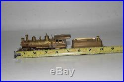 United Models Brass Ho Scale Ma & Pa Baldwin 2-8-0 Steam Locomotive & Tender