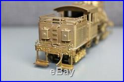 Vintage Brass PFM HO Scale United Climax Class C Locomotive Made in Japan