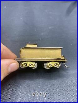 Vintage HO Scale Brass 2-6-0 Steam Locomotive & Tender Japan Untested
