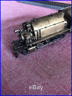Vintage HO Scale NWSL Alco Minarets 2-8-2T Locomotive Brass