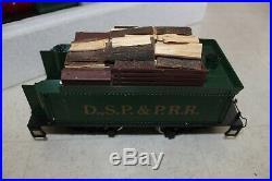 Vintage LGB W Germany G Scale DSP & PRR Steam Locomotive & Tender Southern 2018D