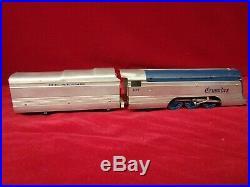 Vintage Rare Ho Scale Penn Line Reading Crusader Steam Locomotive & Pass Cars
