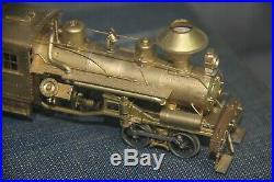 Vintage United HO scale brass Heisler Geared Logging Locomotive Japan Train Hobb