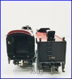 Weaver #6755 BRASS PRR M1a 4-8-2 Mountain Steam Engine & Tender O Scale 3 Rail