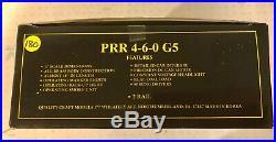 Weaver O Scale Brass 2 Rail PRR 4-6-0 G5 Locomotive & Tender With Smoke OB