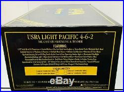 Weaver USRA Light Pacific Steam Engine 4-6-2 withTender O-Scale 2-Rail Undecorated