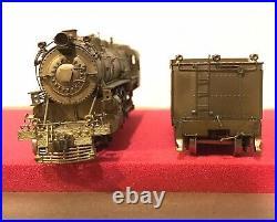 Westside Model Co HO SCALE K-2 Brass PRR 4-6-2 Locomotive & Tender OB