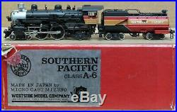 Westside Model Co. SP/Southern Pacific A-6 4-4-2 Steam Engine BRASS HO-Scale