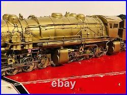 Westside Model O Scale 2R Brass Virginian Triplex Samhongsa Stunning OB
