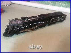 Williams O-Scale Santa Fe Berkshire 2-8-4 Steam Locomotive
